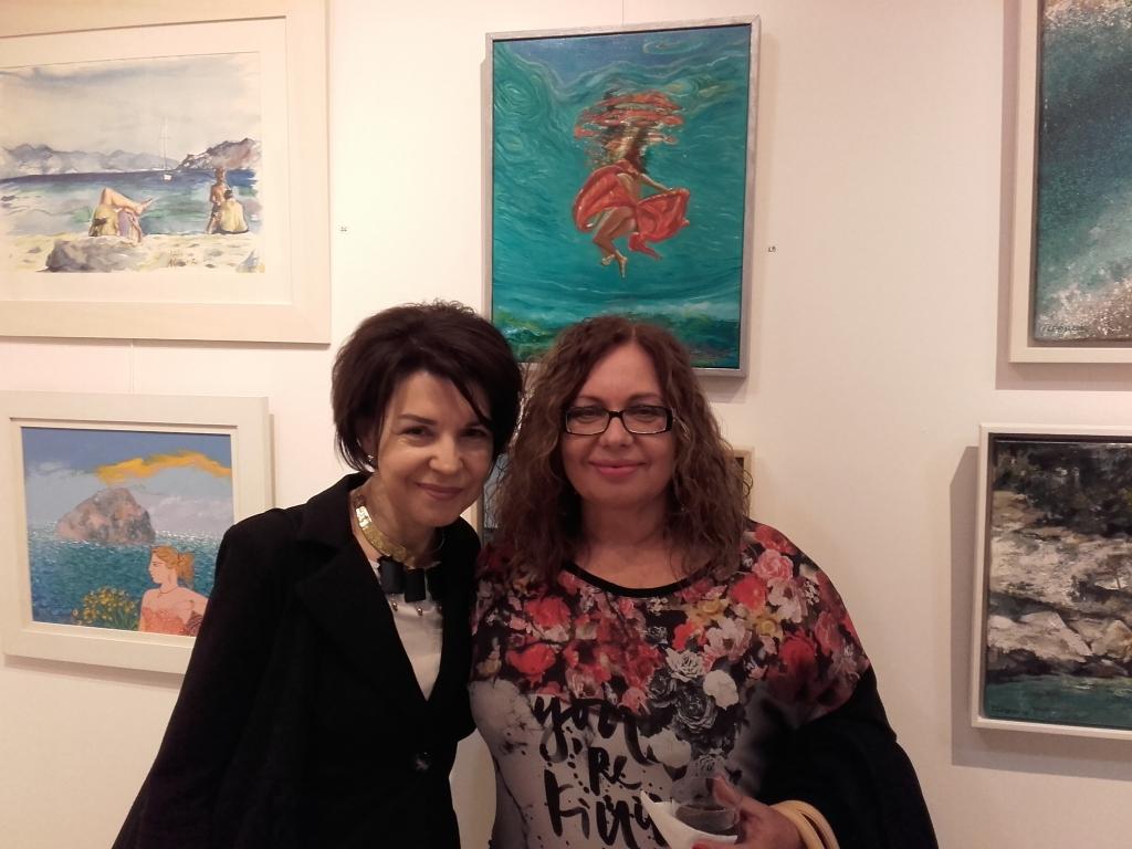 Με τη ζωγράφο Χρύσα Βέργη