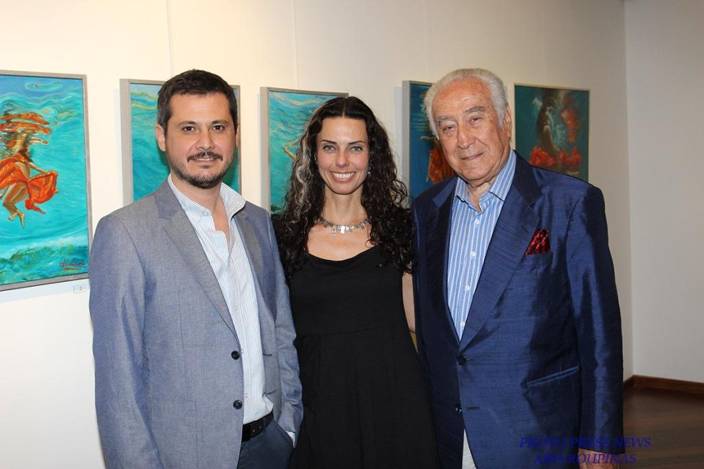 Σ.Ιατρού, Λ.Κουβάτσου και ο σχεδιαστής μόδας Κώστας Μαυρόπουλος