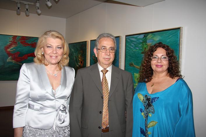 Με τη Μαρία Χριστίνα Λυμπεράκη