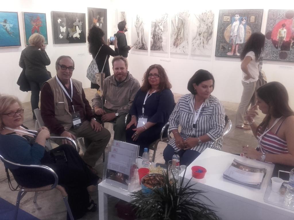 2018 ART ATHINA με τη Γκαλερί Αργώ