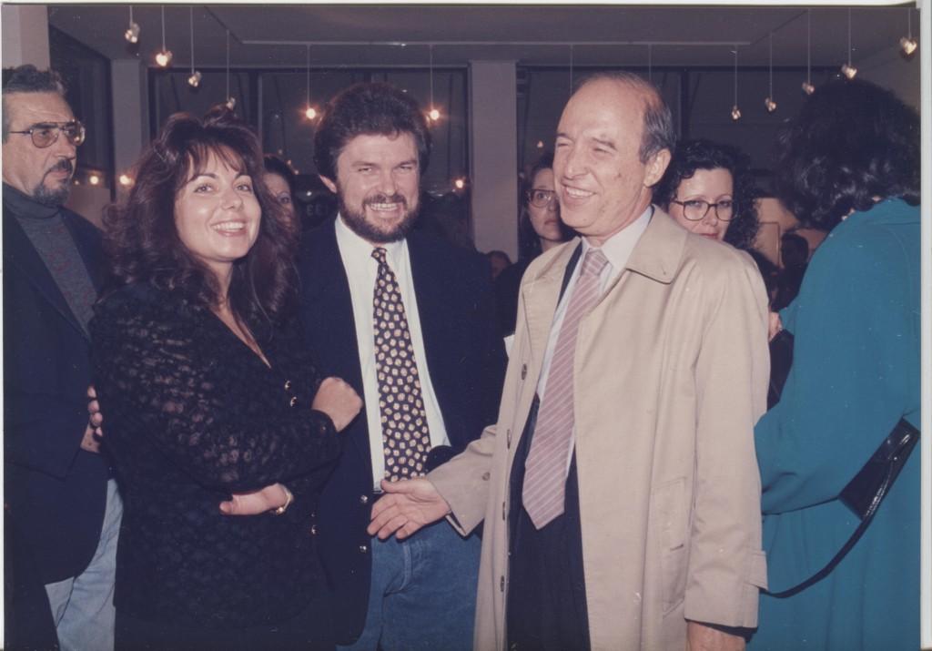 "Gallery ""Θέλγος"" με το Γ.Μίχα και τον Υπουργό Εργασίας τότε κ.Σημίτη"