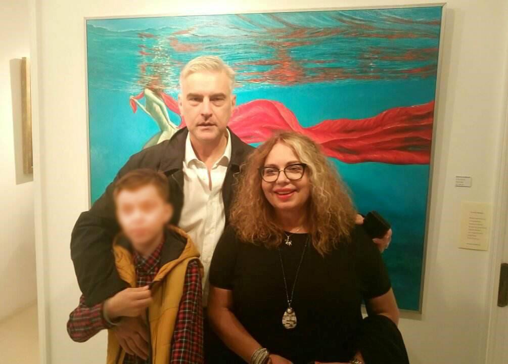 Με τον Αναπλ. Καθηγητή Ιστορίας της Τέχνης Δ.Π.Θ. Γιάννη Κολοκοτρώνη
