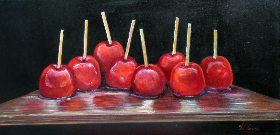 Καραμελωμένα μήλα