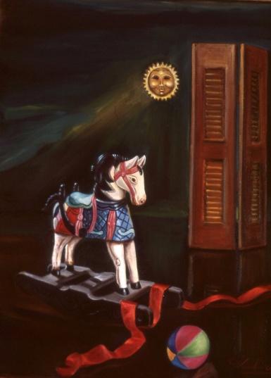 Ξύλινο αλογάκι
