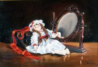Κούκλα καθρέπτης
