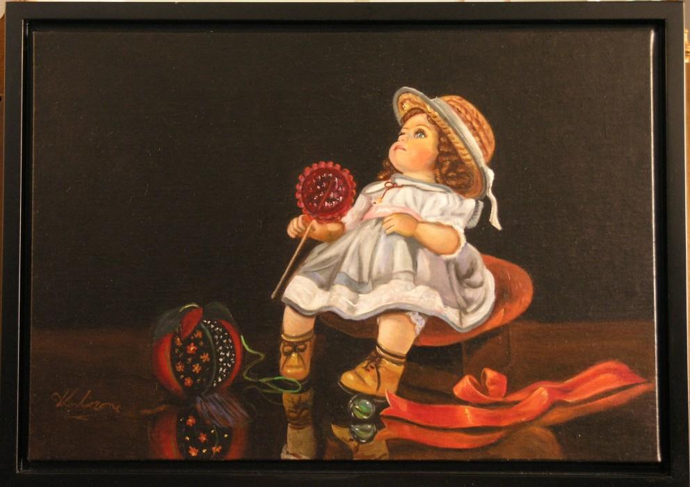 Κούκλα με γλυφιτζούρι