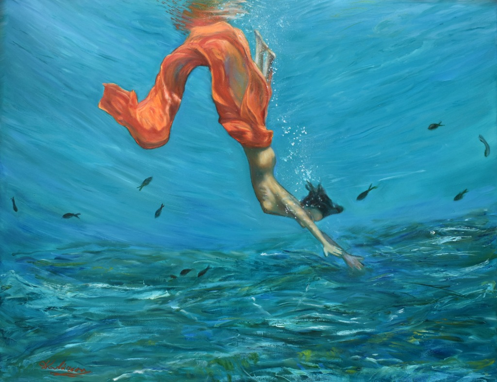Mermaid 70x90