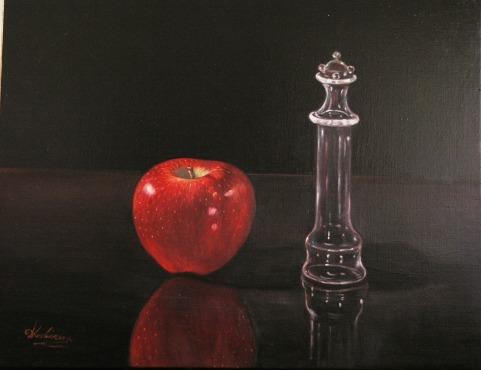 Πιόνι και μήλο